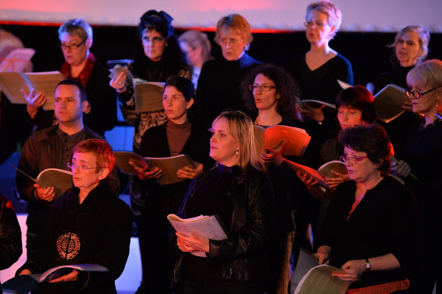 Woolwich Singers at the Woolwich Grand (photo: Mike King)