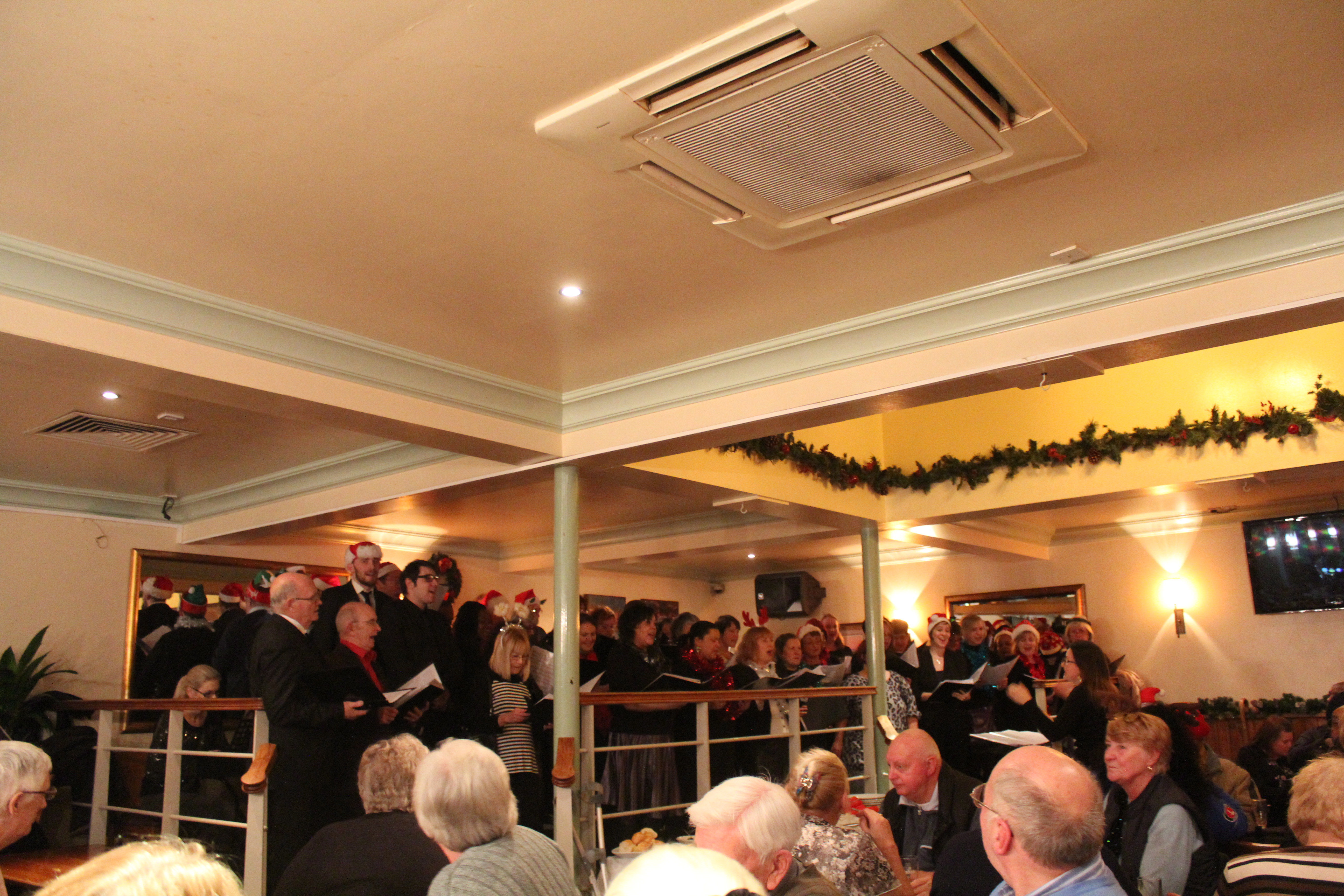 Performing at the Earl of Chatham